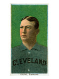 Cleveland, OH, Cleveland Naps, Cy Young, Baseball Card Prints by  Lantern Press