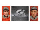 Chicago, IL, Chicago Cubs, Ed. M. Reulbach, James P. Archer, Baseball Card Prints by  Lantern Press