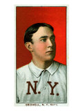 New York City, NY, New York Giants, Al Bridwell, Baseball Card Poster by  Lantern Press