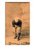 New York City, NY, New York Giants, Mike Dorgan, Baseball Card Poster