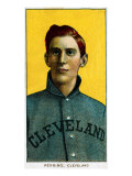 Cleveland, OH, Cleveland Naps, George Perring, Baseball Card Poster