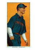 Cincinnati, OH, Cincinnati Reds, Mike Mowrey, Baseball Card Poster