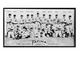Philadelphia, PA, Philadelphia Phillies, Team Photograph, Baseball Card Kunstdruck