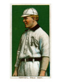 Philadelphia, PA, Philadelphia Athletics, Topsy Hartsel, Baseball Card Print by  Lantern Press
