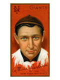 New York City, NY, New York Giants, Arthur Devlin, Baseball Card Print