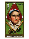 Chicago, IL, Chicago White Sox, Russell A. Blackburne, Baseball Card Affiche