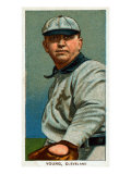 Cleveland, OH, Cleveland Naps, Cy Young, Baseball Card Print