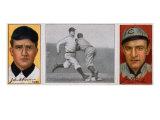 Chicago, IL, Chicago Cubs, John A. Rowan, James P. Archer, Baseball Card Prints by  Lantern Press