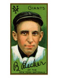 New York City, NY, New York Giants, Beals Becker, Baseball Card Posters