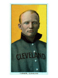 Cleveland, OH, Cleveland Naps, Terry Turner, Baseball Card Posters by  Lantern Press