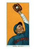 Cincinnati, OH, Cincinnati Reds, Rebel Oakes, Baseball Card Posters by  Lantern Press