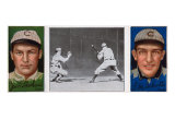 Chicago, IL, Chicago Cubs, Jas. T. Sheckard, F. M. Schulte, Baseball Card Art