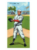 Philadelphia, PA, Philadelphia Phillies, John Titus, Baseball Card Posters by  Lantern Press
