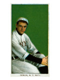 New York City, NY, New York Giants, Mike Donlin, Baseball Card Posters