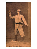 Philadelphia, PA, Philadelphia Quakers, Tommy McCarthy, Baseball Card Posters by  Lantern Press