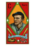 Cleveland, OH, Cleveland Naps, Neal Ball, Baseball Card Posters by  Lantern Press