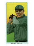 Cleveland, OH, Cleveland Naps, Heinie Berger, Baseball Card Posters