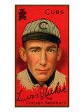 Chicago, IL, Chicago Cubs, Lewis Richie, Baseball Card Art by  Lantern Press