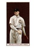 Cleveland, OH, Cleveland Naps, George Kaler, Baseball Card Posters