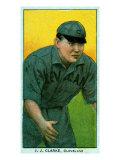 Cleveland, OH, Cleveland Naps, J. J. Clarke, Baseball Card Posters