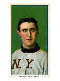 New York City, NY, New York Giants, Hooks Wiltse, Baseball Card Posters by  Lantern Press