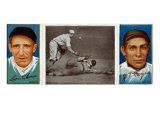 New York City, NY, New York Giants, Leon Ames, John T. Meyers, Baseball Card Posters by  Lantern Press