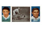 New York City, NY, New York Giants, Leon Ames, John T. Meyers, Baseball Card Posters
