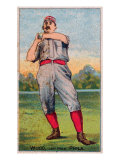 Philadelphia, PA, Philadelphia Quakers, Dandy Wood, Baseball Card Posters by  Lantern Press