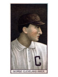 Cleveland, OH, Cleveland Naps, Lefty George, Baseball Card Posters