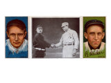New York City, NY, New York Giants, Josh Devore, Beals Becker, Baseball Card Print