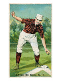 New York City, NY, New York Giants, Buck Ewing, Baseball Card Print by  Lantern Press