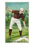 New York City, NY, New York Giants, Buck Ewing, Baseball Card Print