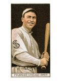 Chicago, IL, Chicago White Sox, Jaques Fournier, Baseball Card Print