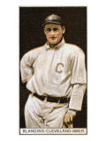 Cleveland, OH, Cleveland Naps, Fred Blanding, Baseball Card Print by  Lantern Press