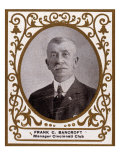 Cincinnati, OH, Cincinnati Reds, Frank C. Bancroft, Baseball Card Print by  Lantern Press