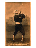 Chicago, IL, Chicago White Stockings, Billy Sunday, Baseball Card Print by  Lantern Press