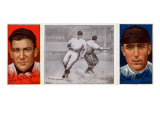 New York City, NY, New York Giants, Lawrence Doyle, Fred Merkle, Baseball Card Poster by  Lantern Press