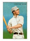 Philadelphia, PA, Philadelphia Athletics, Home Run Baker, Baseball Card Poster