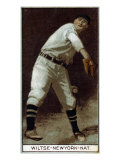 New York City, NY, New York Giants, George Wiltse, Baseball Card Poster