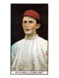 Cincinnati, OH, Cincinnati Reds, Mike Mitchell, Baseball Card Poster