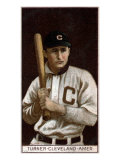 Cleveland, OH, Cleveland Naps, Terence Turner, Baseball Card Poster by  Lantern Press