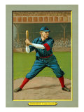 Cincinnati, OH, Cincinnati Reds, Dode Paskert, Baseball Card Poster