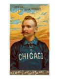 Chicago, IL, Chicago White Stockings, Cap Anson, Baseball Card Poster by  Lantern Press