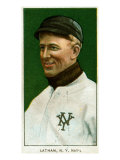 New York City, NY, New York Giants, Arlie Latham, Baseball Card Posters by  Lantern Press
