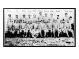 New York City, NY, New York Giants, New York Giants Team Photo, Baseball Card Posters