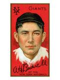 New York City, NY, New York Giants, Albert Bridwell, Baseball Card Posters