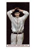 New York City, NY, New York Giants, Richard Marquard, Baseball Card Posters