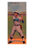 Chicago, IL, Chicago Cubs, John Evers, Baseball Card Posters by  Lantern Press