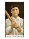 Cleveland, OH, Cleveland Naps, Henry Butcher, Baseball Card Posters by  Lantern Press