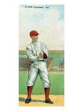 Cincinnati, OH, Cincinnati Reds, Edward Grant, Baseball Card Posters by  Lantern Press